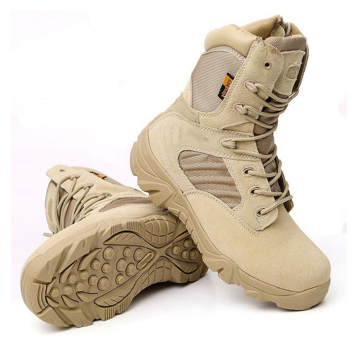 Winter Army Men's Military Outdoor Desert Combat Tactic Mid-calf Boots Men Snow Tactical Hiking Boots Botas Hombre Zapats