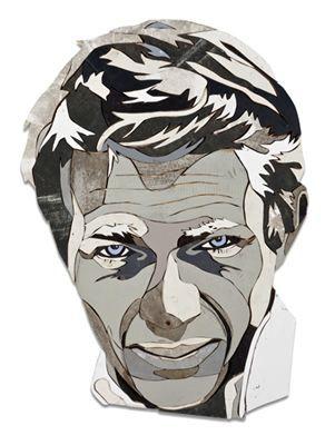 Diederick Kraaijeveld'in Steve McQueen kolajı