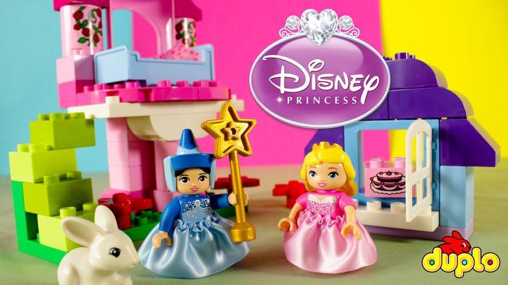 LEGO Disney Princess Cinderella Romantic Castle Duplo play set 10542 unb...