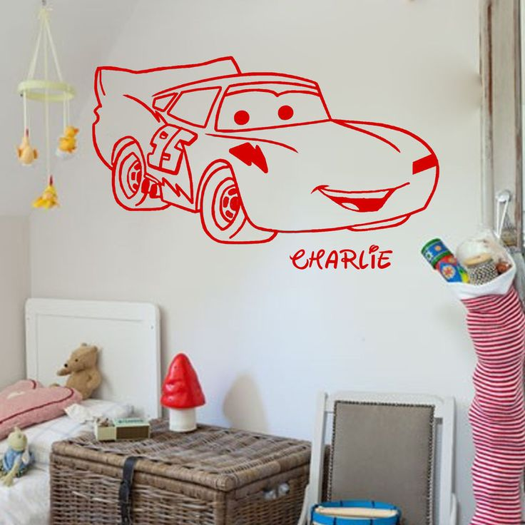 Best  Personalised Wall Stickers Ideas On Pinterest - Lightning mcqueen custom vinyl decals for car