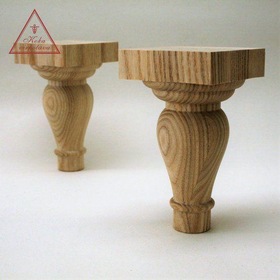 farmhouse table leg furniture leg wood turned wooden leg furniture rh pinterest com