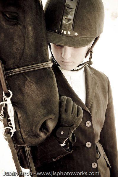 I love riding horses
