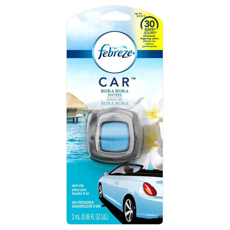 Febreze Car, Bora Bora - 0.06oz, Blue