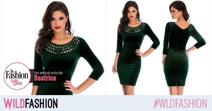 Poarta o rochie verde primavara aceasta!