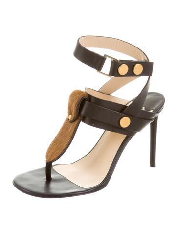 Malene Birger Devonne Ponyhair sandals ,purchased on 70% sale for 7160 rubles