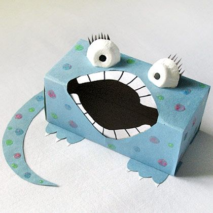 Sandwich Box Monster