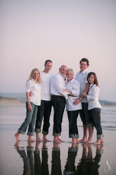 Portraits by Shanti Duprez / Family Reunion Photography / Low Tide / Half Moon Bay