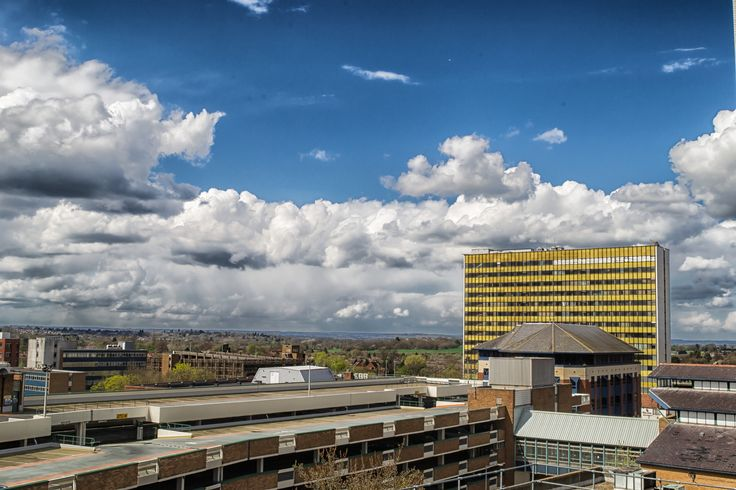 https://flic.kr/p/MMsWBz | Bracknell Skyline April 2013 | This has changed a great deal since I first took this shot from the top of Princess Square car park. The biggest change is the demolition of Winchester House, the yellow clad building on the right. This was in my opinion the catalyst for the start of the regeneration of Bracknell Town Centre. There is just a tiny pile of rubble remaining from the demolition of this building and the new town centre is set to open September next year…