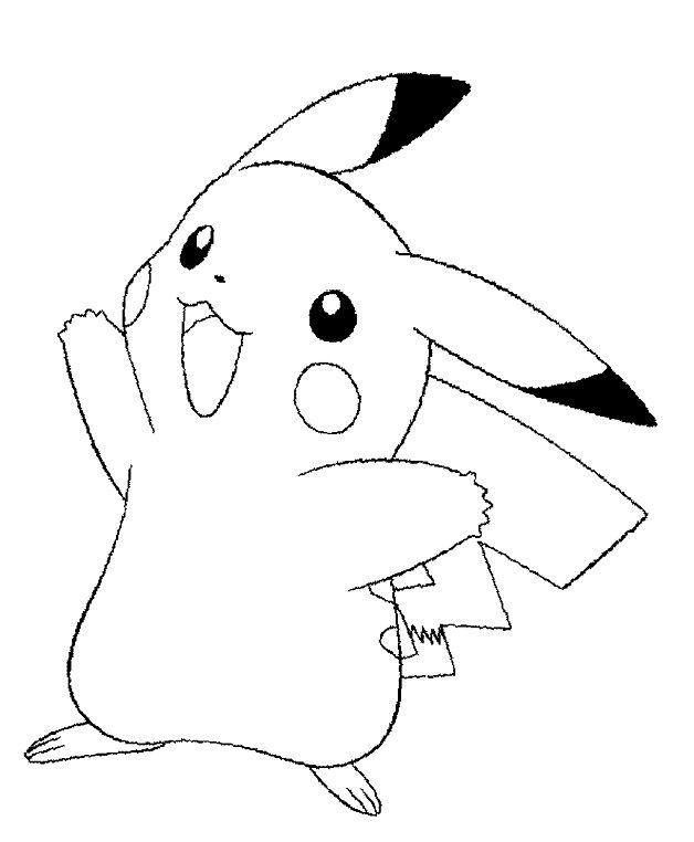 Dibujos de Pokemon para colorear Pikachu | Pokémon | Pinterest ...