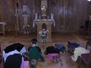 Familia Católica: Visita Guiada al Santísimo con Niños - Hora Santa
