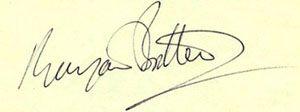 Benjamin Brtiten's signature