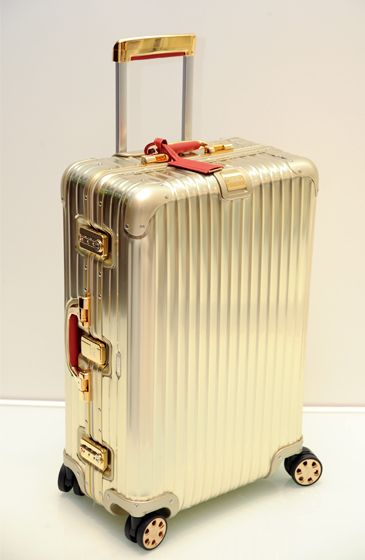 Emmy DE * Rimowa -Topas Gold - The Bentley of Suitcases ~ Travel in Style ✈