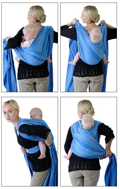 Babywearing: Woven wrap carry tutorials - really helpful visuals for getting a great carry!