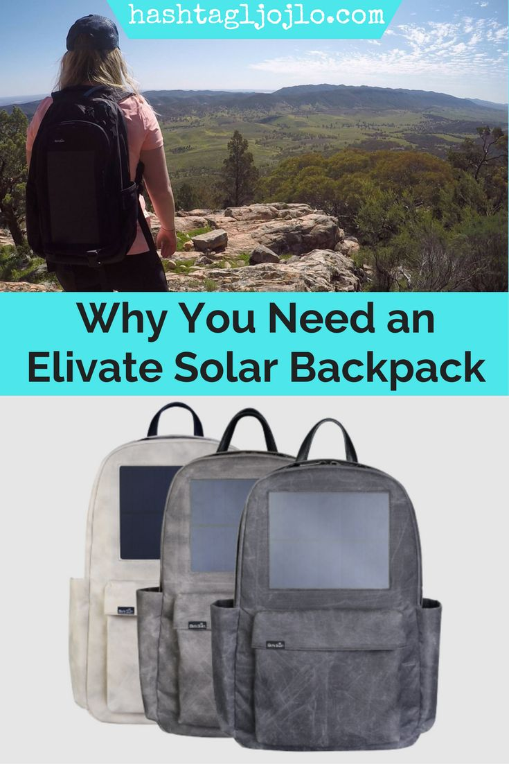 Have you ever heard of a solar backpack that allows you to charge electronics while you're hiking? If not, you're in for an incredible surprise. This Birksun Elevate Solar Backpack is our new favorite travel bag and will quickly become yours too. If you're looking for a new hiking backpack for a present for travelers, this is perfect. Don't forget to share this to your board so you can find it later.
