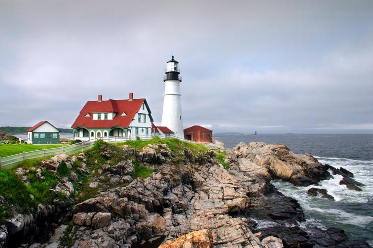Le phare de Portland, dans le Maine  © Fotolia / Chee-Onn Leong