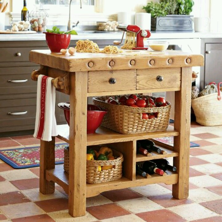Small Kitchen Work Table | Sevenstonesinc.com