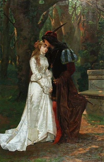 romeo and juliet art | Romeo And Juliet by N. Riccardi. BonzaSheila Presents The Art Of Love ...