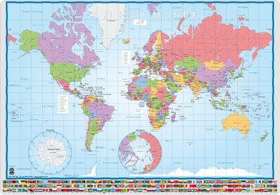 Världskartor - Posters på AllPosters.se