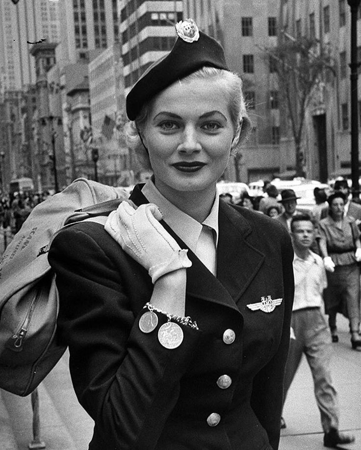65 years ago this week, in the October 8, 1951 issue, LIFE ran a story about Anita Ekberg called BEAUTIFUL MAID FROM MALMO—Miss Sweden takes play away from home-grown girls on U.S. visit. This image was featured in the story - she is pictured here wearing a hostess hat for Scandinavian Airlines made by Mr. John. (Lisa Larsen—The LIFE Picture Collection/Getty Images) #thisweekinLIFE #LIFElegends #1950s