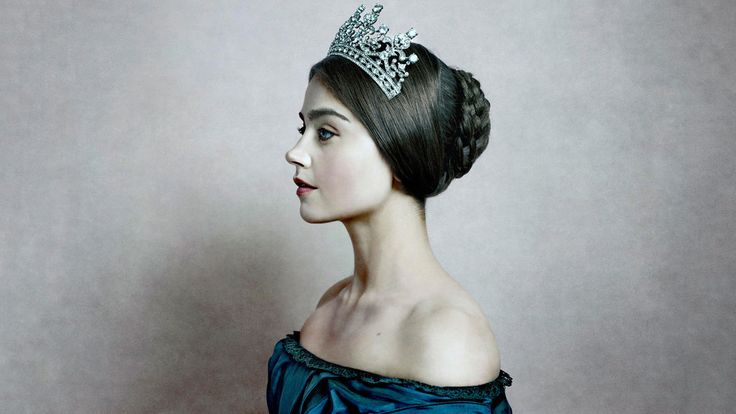 Victoria TV show, Jenna Coleman, actress, crown wallpaper