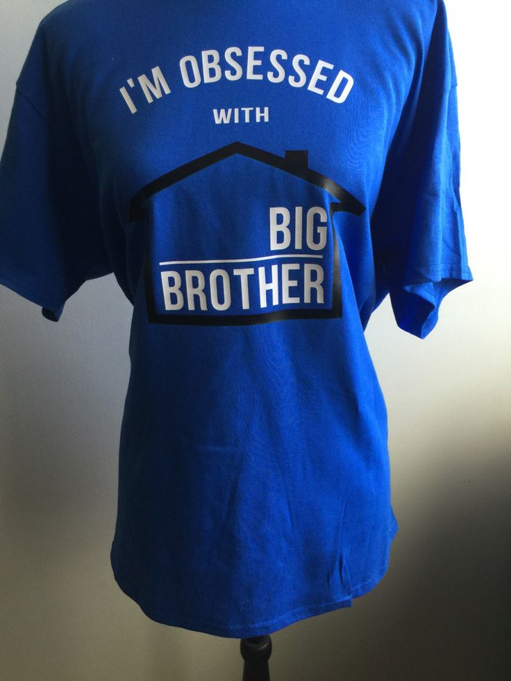 Big Brother Show, I'm Obsessed with Big Brother, Big Brother Show Shirt, Big Brother TShirt, Big Brother by LJCustomDesigns1 on Etsy