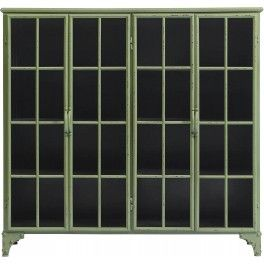 Nordal Jernskap - DOWNTOWN Iron cabinet - Cameo Green
