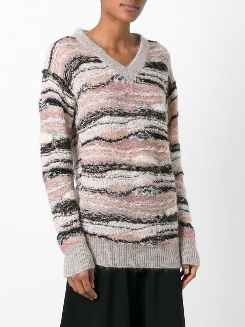 See By Chloé knitted v-neck jumper