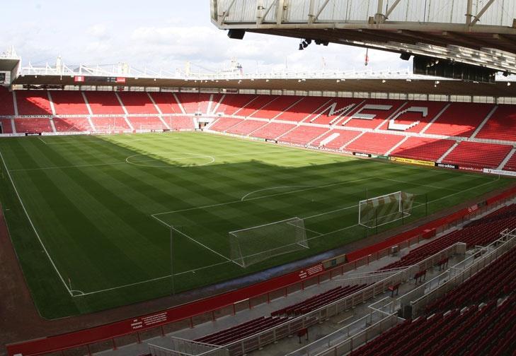 Club Profile | Middlesbrough FC. Riverside Stadium. #Teesside #NorthEast #Boro