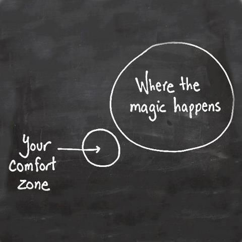 Get out of your comfort zone, make a statement!