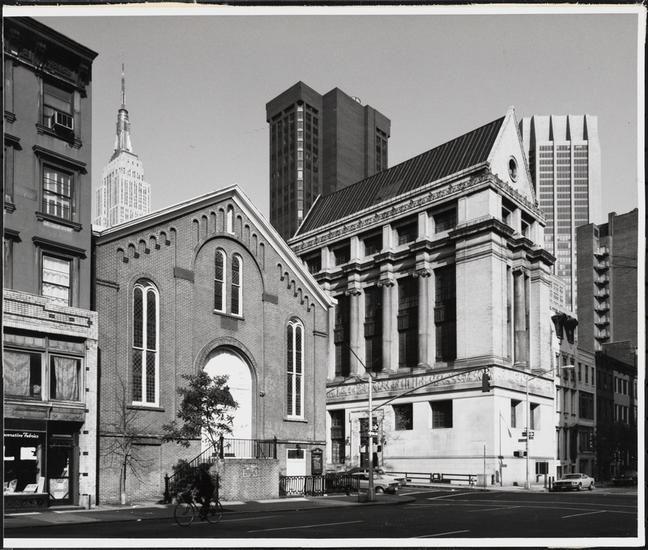 First Moravian Church 154 Lexington Avenue And New York Phoenix School Of Design 160 Lexington Ave Lexington Avenue New York City Manhattan New York School