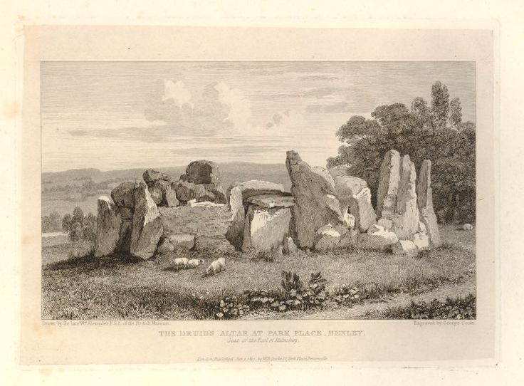 pagan yule trees   Essay on the druids (Richard Smiddy, 1871)   Old Fashioned Holidays