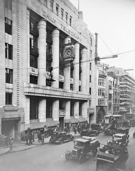 The Daily Telegraph, Fleet Street
