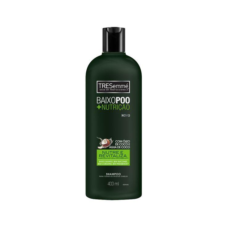 Shampoo Baixo Poo +Nutrição - Tresemmé