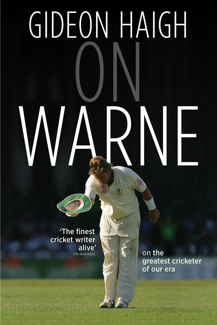 On Warne by Gideon Haigh, shortlisted for the National Biography Award, 2014. Published by Penguin, 2012. State Library of New South Wales copy: http://library.sl.nsw.gov.au/record=b3963209