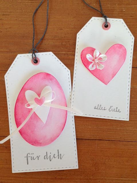 """Stanze """"Ei"""" Sizzix (10 Framelits), Herzstanzen """"Heartfelt"""", Bigz, Sizzix, Tim Holtz, """"für dich"""" Papierwerkstatt by Susanne König, """"alles Liebe"""" Alexandra Renke"""