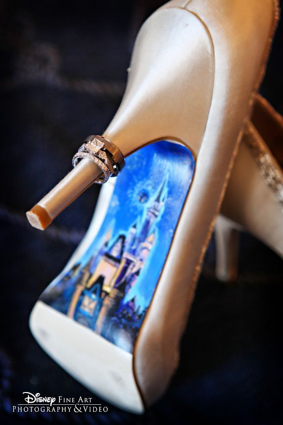 "Disney Wedding ""something blue"" -- OMG! Love this! @Diana Avery Avery Avery Ferrabone"