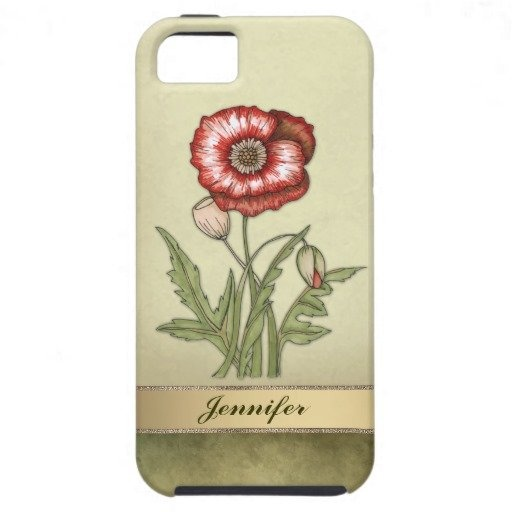 Red Poppy customizable iPhone 5 #case for Mothers day #floral #mothersday #iPhone $49.95