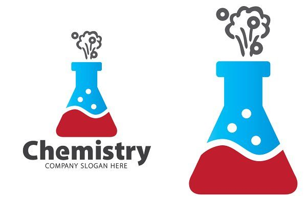 Chemistry Logo In 2020 Logo Templates Education Logo Vector Logo