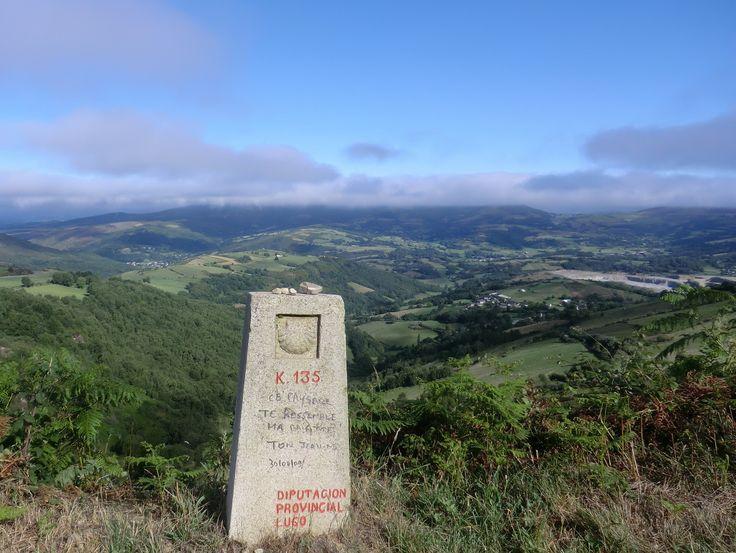 Alto do Poio, Lugo, Camino de Santiago