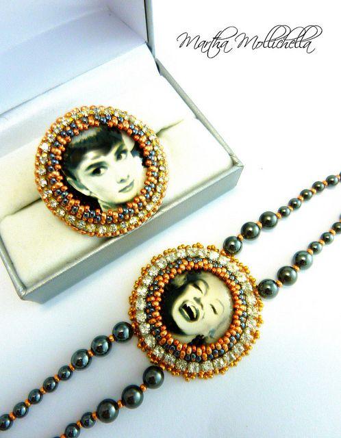 Marilyn Monroe Audrey Hepburn jewellery - Lacasinaditobia Lacasinaditobia
