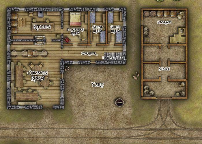111 best d d tavern maps images on pinterest fantasy map for Premade floor plans
