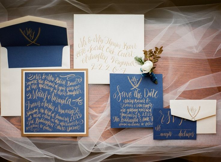 Elegant Winter Wedding Stationery Photography by Shannon Duggan Photography