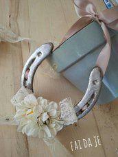 """Ferro di cavallo decorato """"vintage"""""""