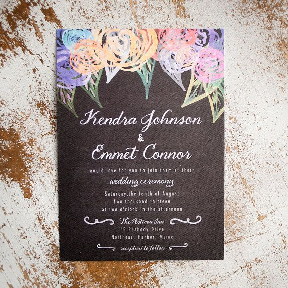 Informal Wedding Invitation Wording: Best 25+ Casual Wedding Invitations Ideas On Pinterest