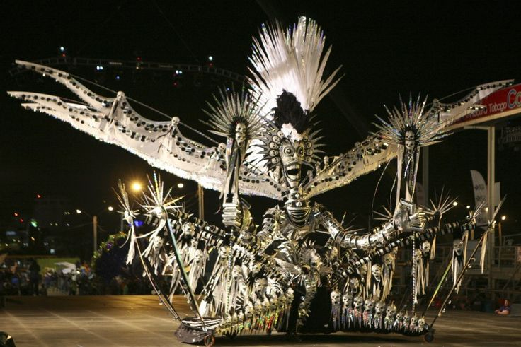 Trinidad and Tobago Carnival 2012: The Caribbean's Biggest Party    Elaborate costumes are par for the course