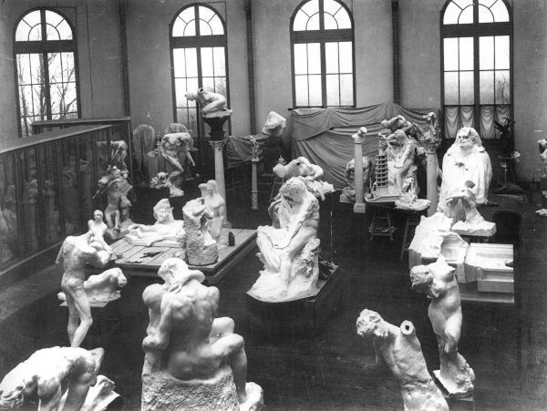 Rodin S Studio In Meudon Rodin Museum Rodin Sculpture Art
