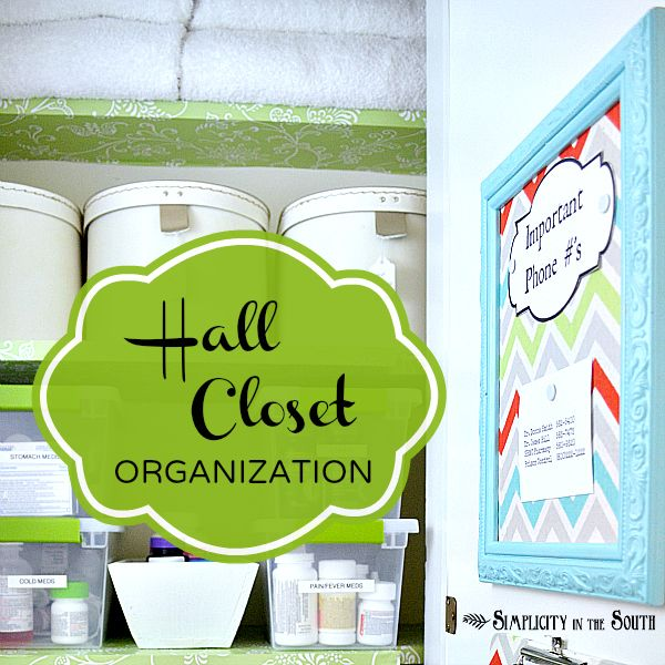 Hall Closet Organization :: Hometalk