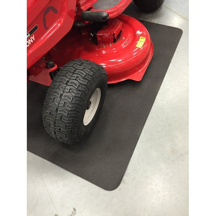 The PowerMat™ offers ultimate in garage and storage floor protection. This advanced geotextile protects surfaces from damaging moisture, liquid, and rust stains created by outdoor power equipment and gardening products.