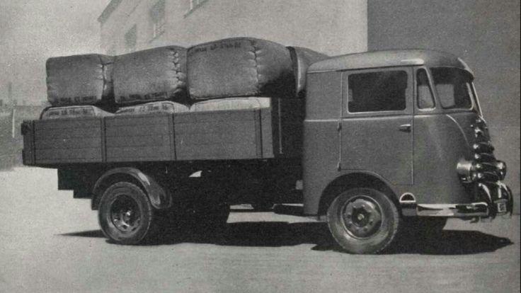 TAM Luka from 1950. Petrol engine from TAM Prvenac and TAM Pionir.