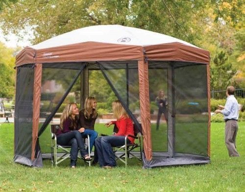 Pop Up Gazebo Bug Screen Canopy Camping Room Shelter Tent